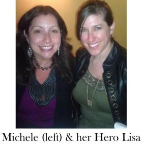 Michele and Lisa
