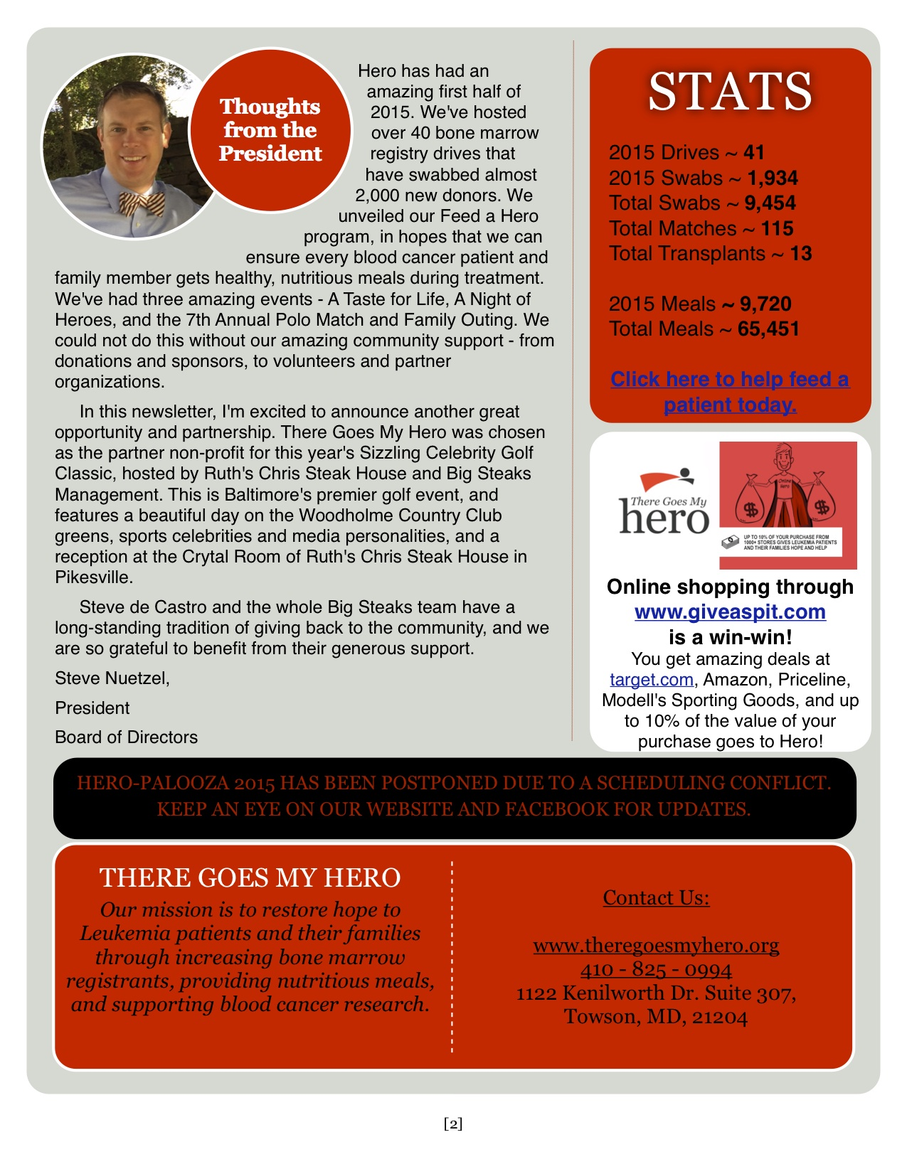 Summer 2015 Newsletter pg 2