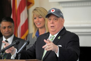 Governor Larry Hogan Announces National Blood Cancer Awareness Month in Maryland.