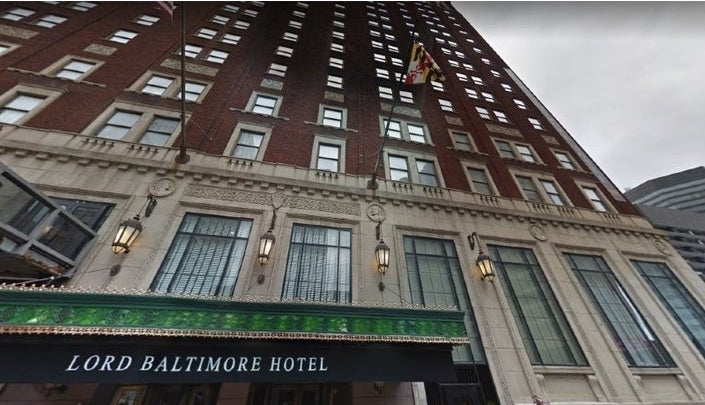 Lord Baltimore Hotel Offering Housing to Coronavirus Patients