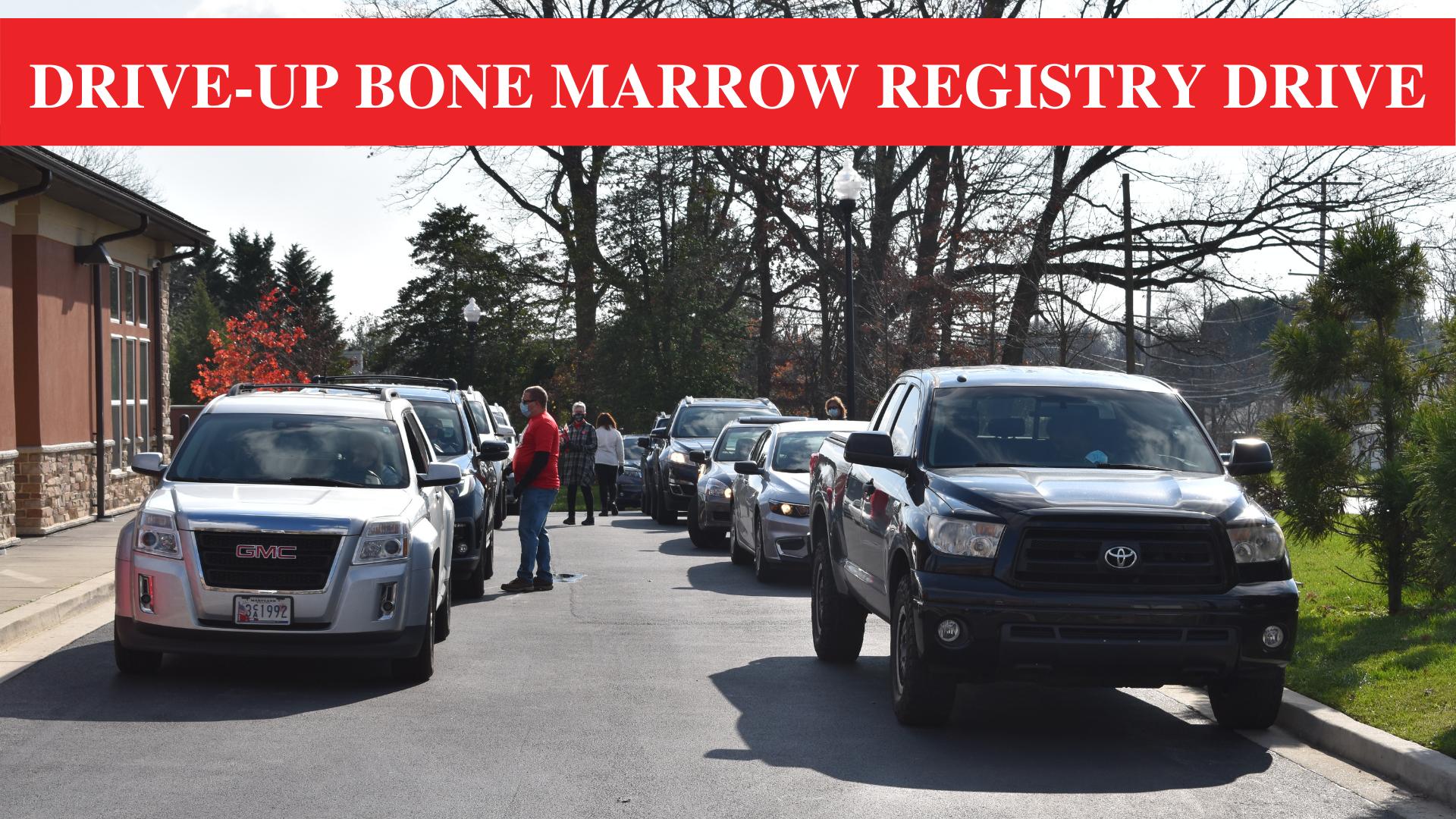 drive-up bone marrow registry drive